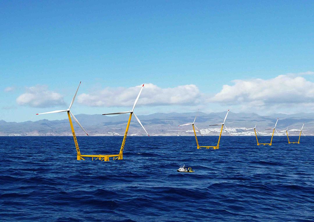 Impulsan y financian en Europa, en un mismo espacio marino offshore, la acuicultura y energía marina